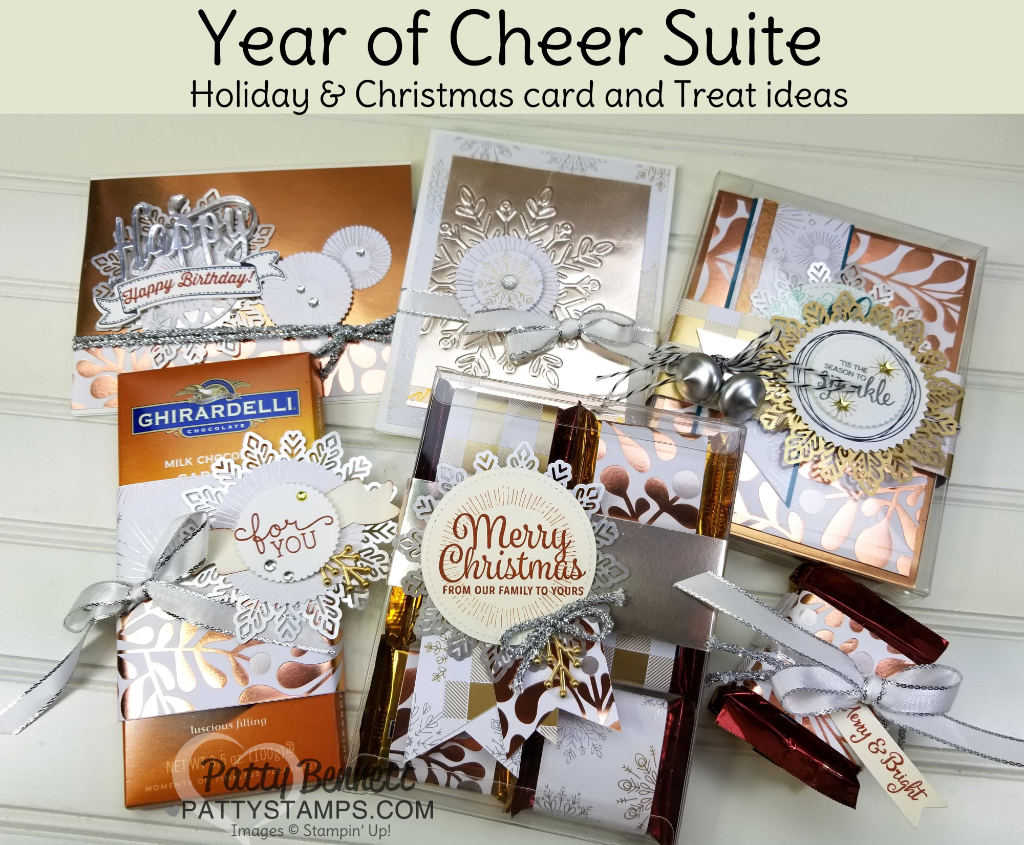 video year of cheer stampin' up holiday catalog product