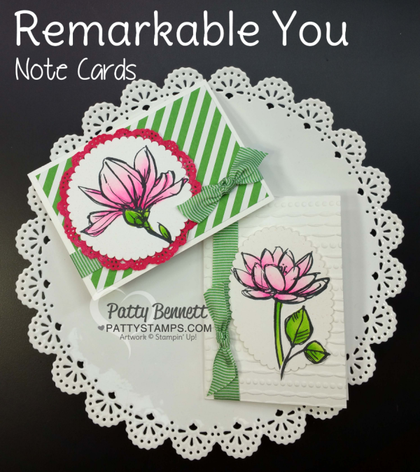 Stampin' UP! retiring stamp set: Remarkable You. Retiring May 2018