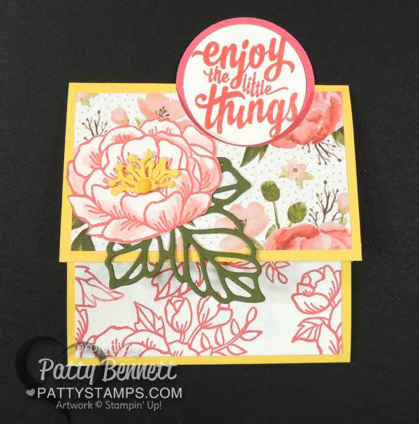 Fun Fold Birthday Blooms stamp set - retring Stampin' Up! set, May 2018