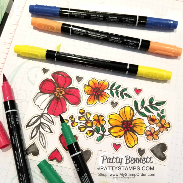 New 2018-2020 Stampin' UP! In Color markers
