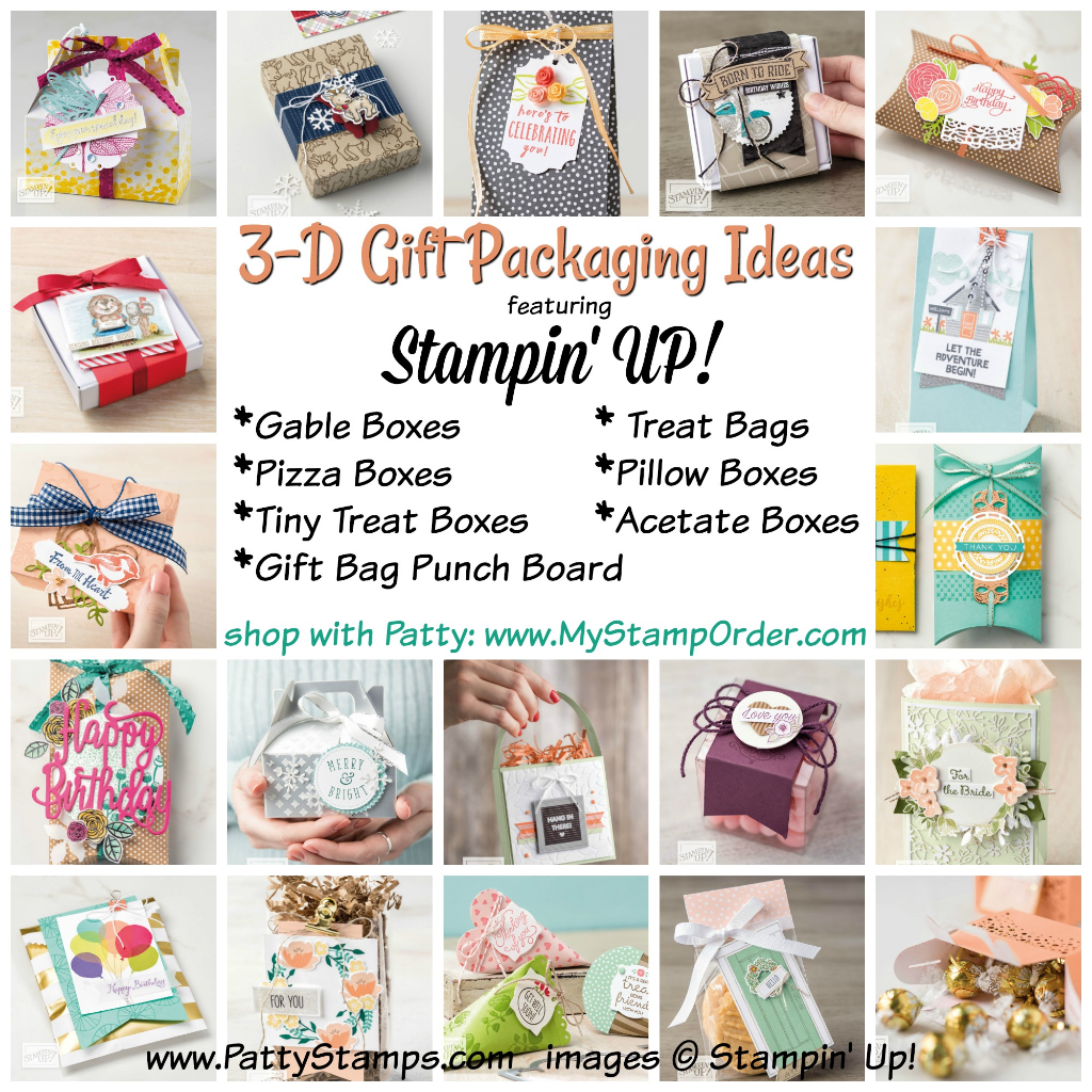 3-D Gift Packaging and DIY Party Favor