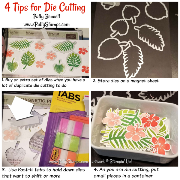 4 Die Cutting tips when using your Big Shot and framelit dies!