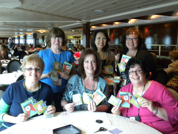 Bennett family - Stampin' UP! Incentive Trip cruise. www.PattyStamps.com