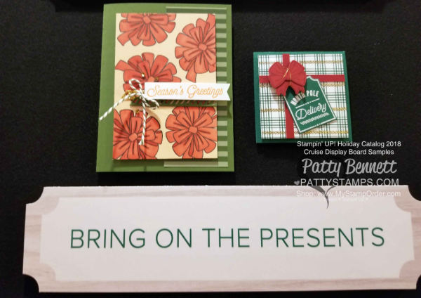 Stampin Up! Holiday Catalog 2018 preview Bring on the Presents Christmas bundle www.PattyStamps.com