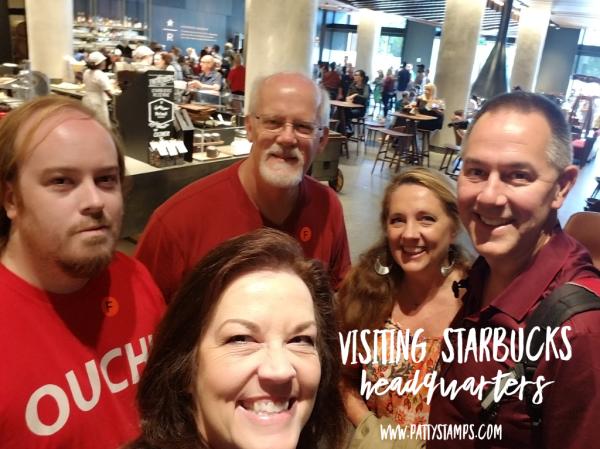 Bennett Family Seattle Adventure 2018 - Starbucks Reserve. www.PattyStamps.com