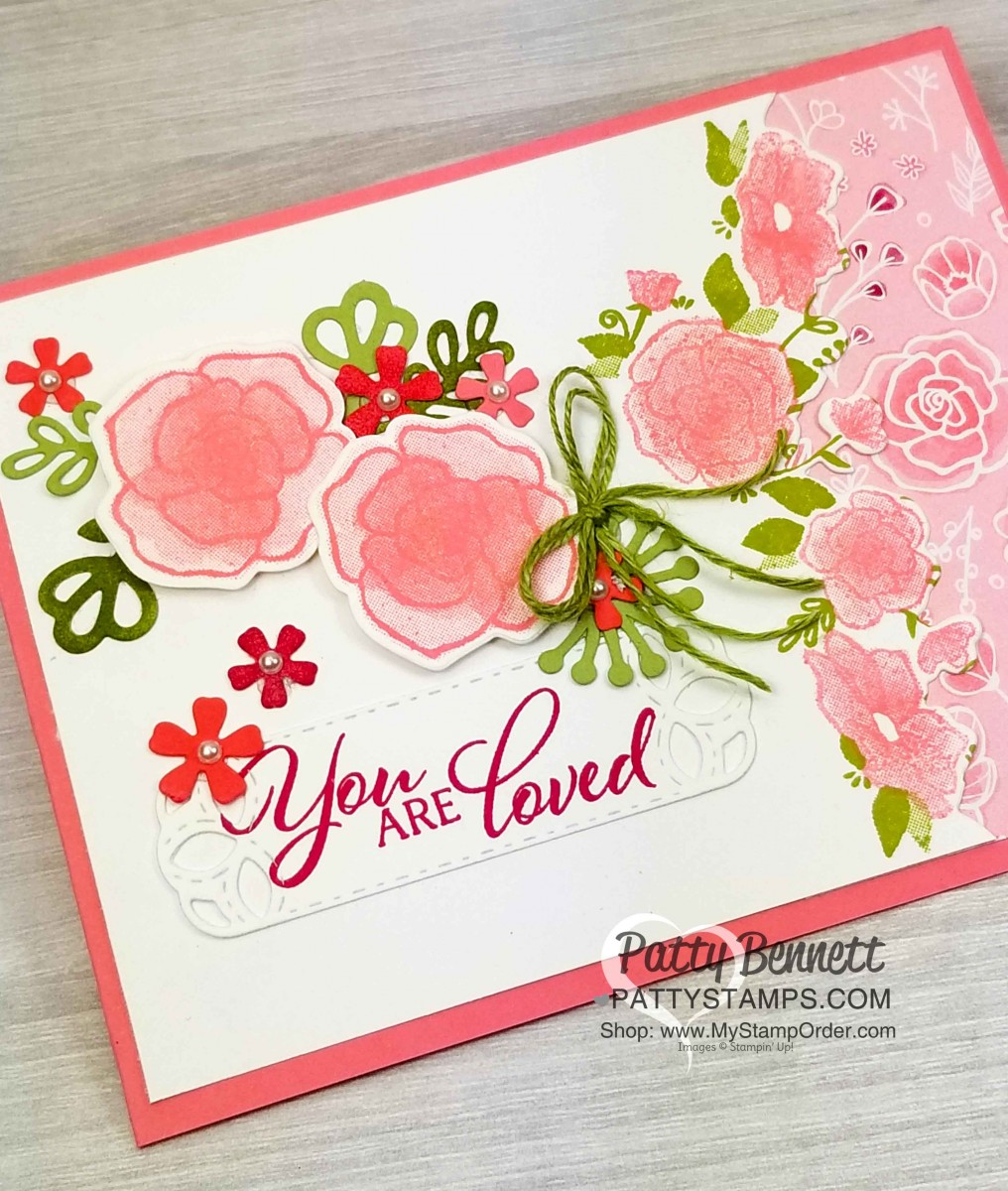 Forever Lovely Occasions Catalog Card Idea - Patty Stamps