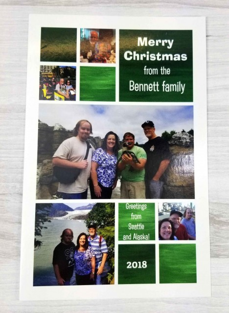 Merry Christmas from the Bennett Family, 2018