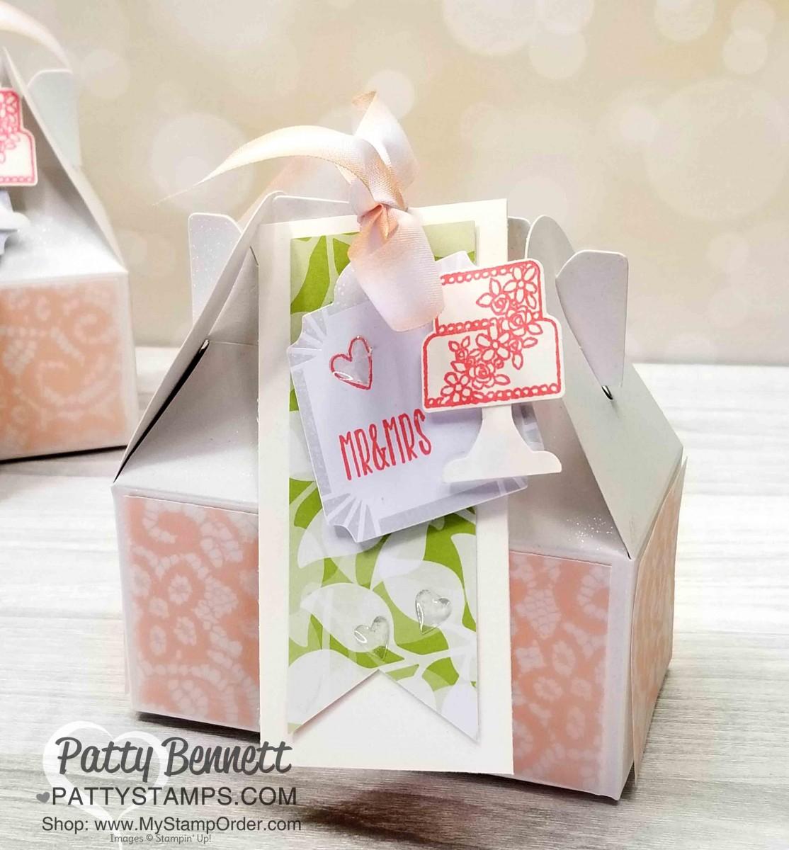 Gable Box Wedding Favor Idea