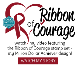 Patty's Ribbon of Courage stamp set story and tutorials