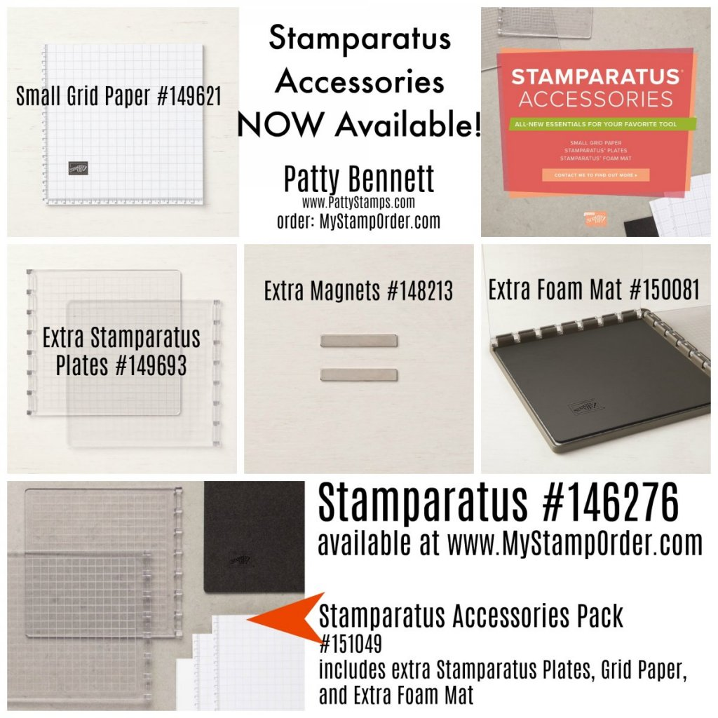 Stamparatus Accessories available!
