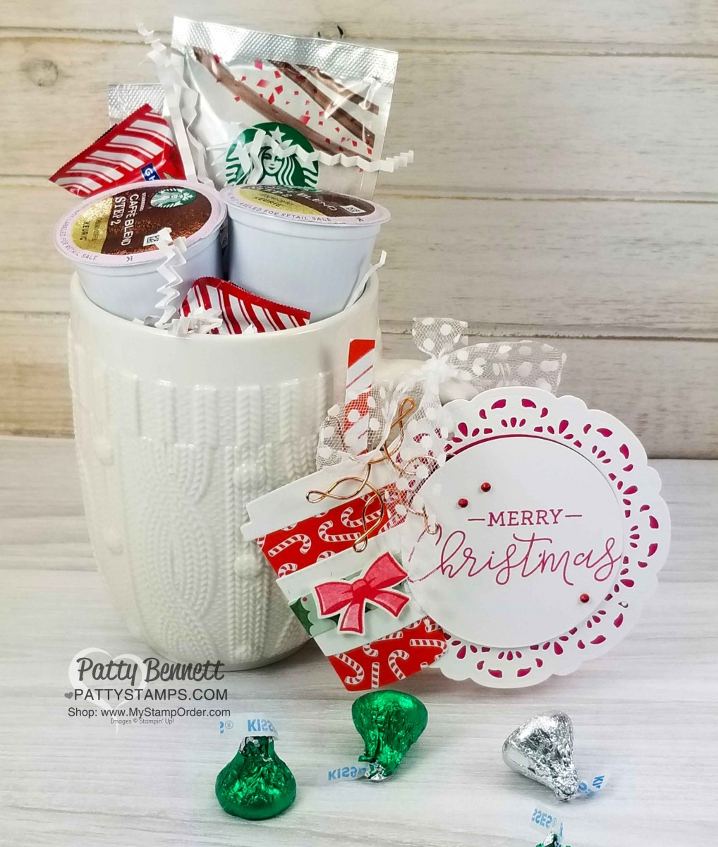 Starbucks Peppermint Mocha Latte Coffee Cup Gifts Patty Stamps