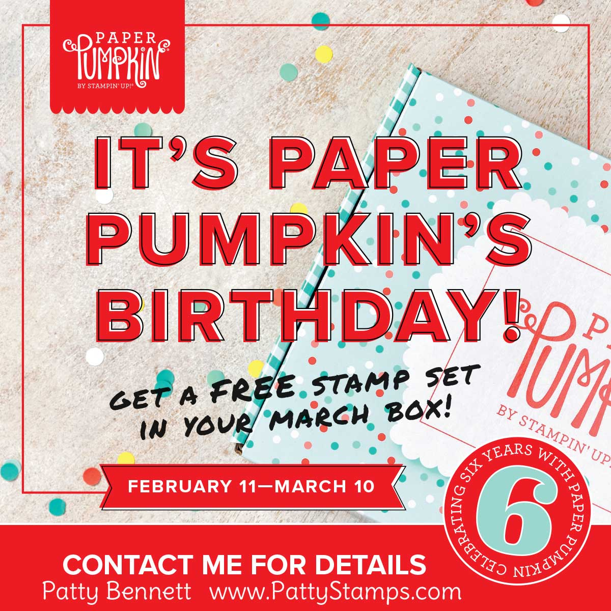 Have you signed up for the March Paper Pumpkin Kit?