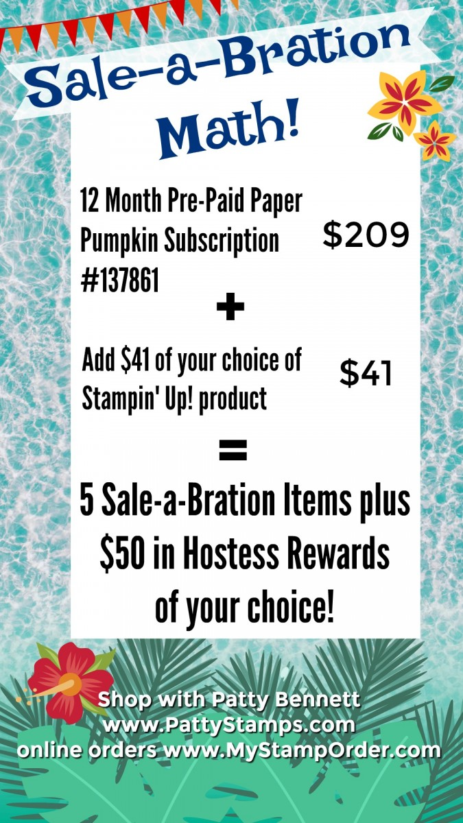 Great Deal with 1 Year Paper Pumpkin Subscription