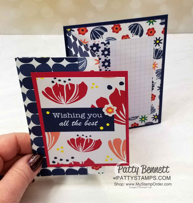 Fun Fold Happiness Blooms Card Ideas