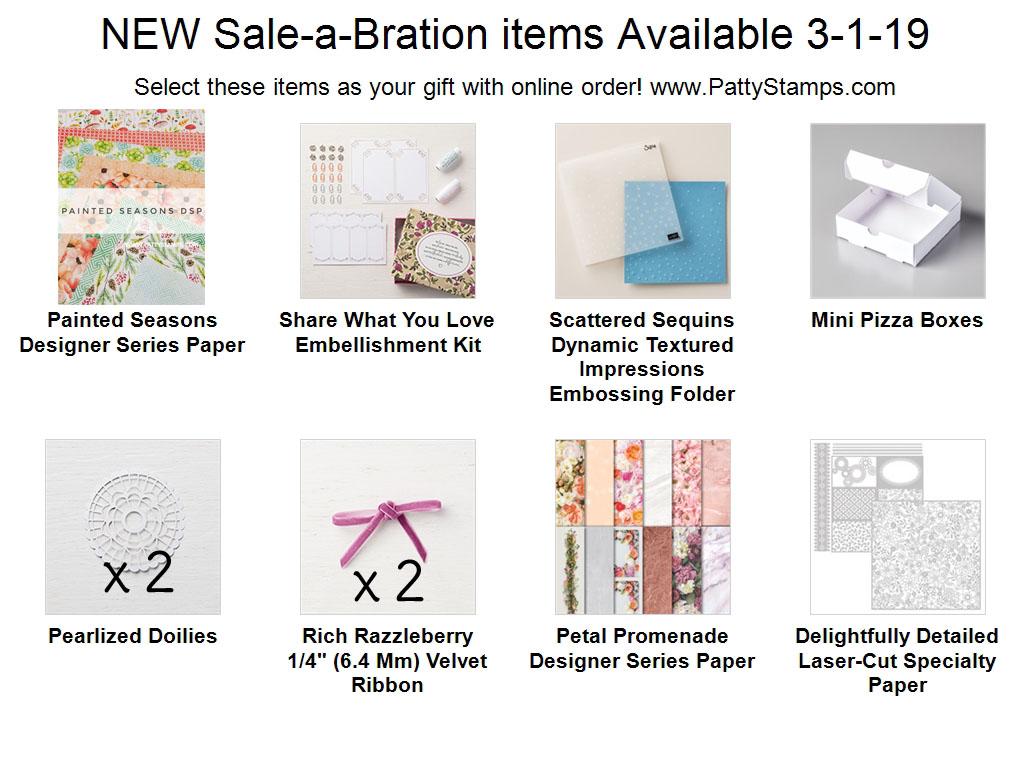 Whohooo!! NEW Sale-a-Bration Gift Items!