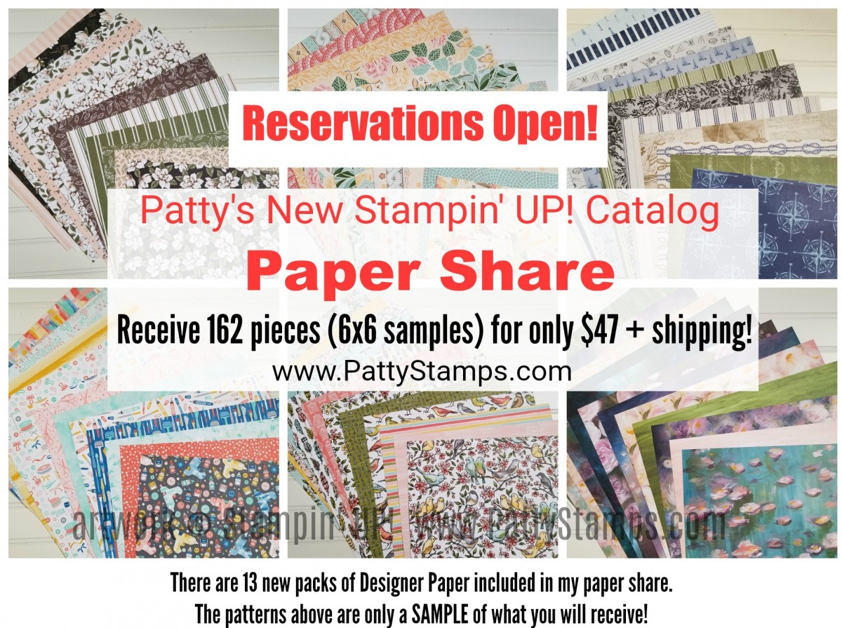Reserve your Stampin' UP! New Catalog Paper Share