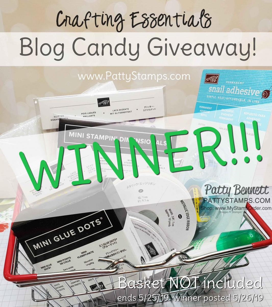 Winner of the Papercrafting Essentials Giveaway