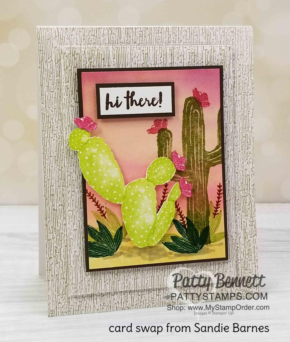 Retiring Flowering Desert Stamp Set