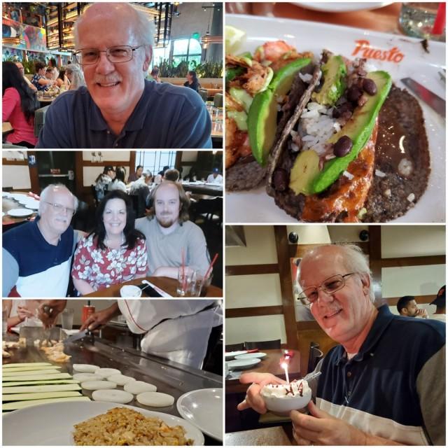 Celebrating Eric's birthday July 2019.