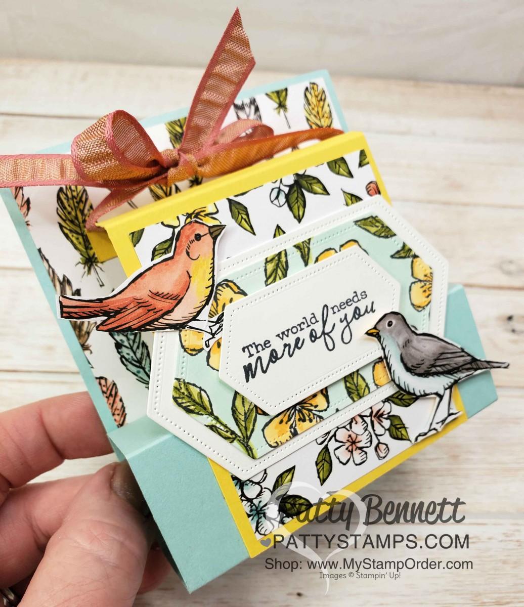 Pop Up Bird Ballad Card