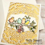 Laser Cut Card featuring Stampin