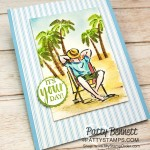 Birthday card and Amazon Gift Card Holder for Eric featuring Stampin