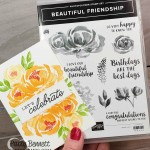 Beautiful Friendship floral stamp set from Stampin