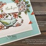 Bird Ballad designer paper from Stampin
