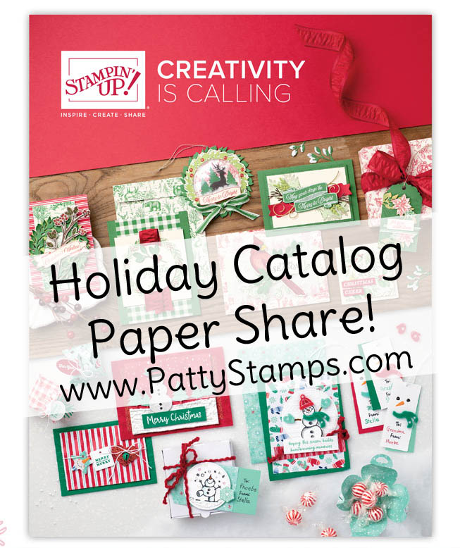 Holiday Catalog 2019 Sneak Peeks & Paper Share video