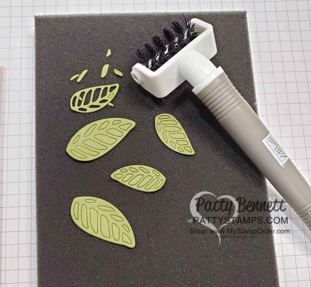 Stampin' UP! Take Your Pick tool with die brush. www.PattyStamps.com