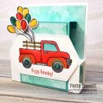 """Birthday """"Fun Fold"""" Card Idea featuring Stampin"""