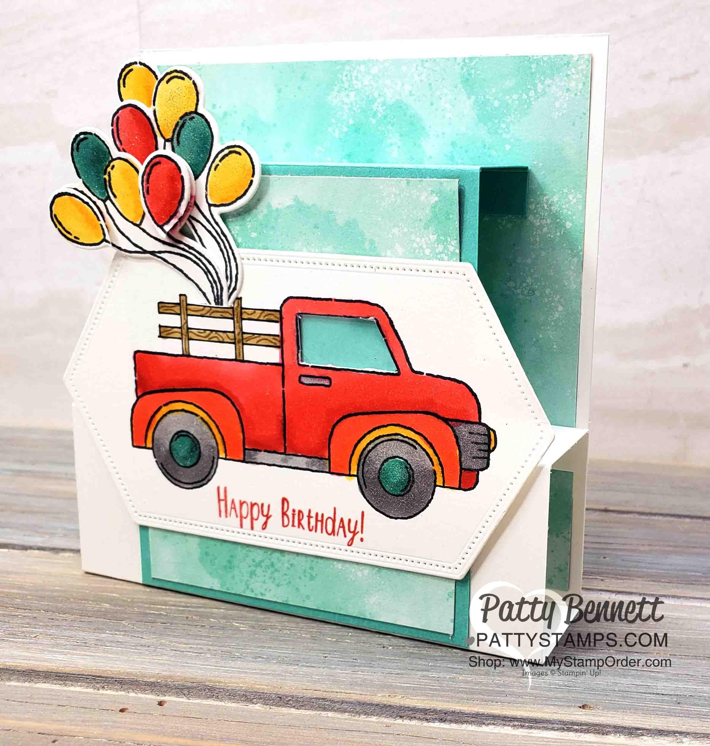Fun Fold Birthday Card for Eric!