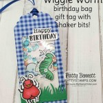 Wiggle Worm stamp set and Wiggly Bugs dies from Stampin