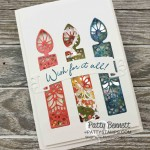 Wish for It All Shaker Card for birthdays featuring Stampin