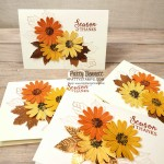 Fall Thanks Card idea featuring Stampin