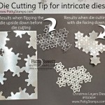 Die Cutting Tip for the Stampin