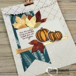 Fall Treat or Hostess gift bag idea featuring Stampin