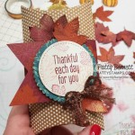 Fall Treat or Hostess gift idea for Thanksgiving featuring Stampin