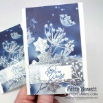 Feels Like Frost designer paper Christmas Card Idea featuring Stampin