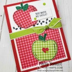 Harvest Hellos pumpkin and apple punch bundle from Stampin