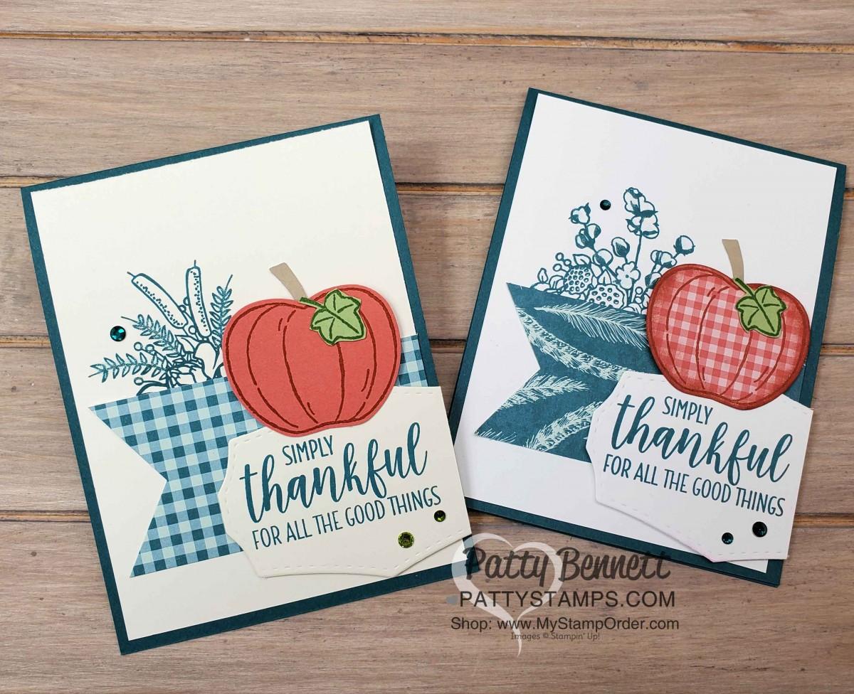 Easy Fall Pumpkin Card Idea
