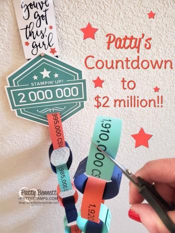 Kicking Off the Countdown to $2 million!