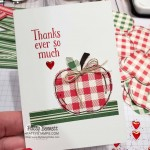 Thank You Note Card featuring Stampin