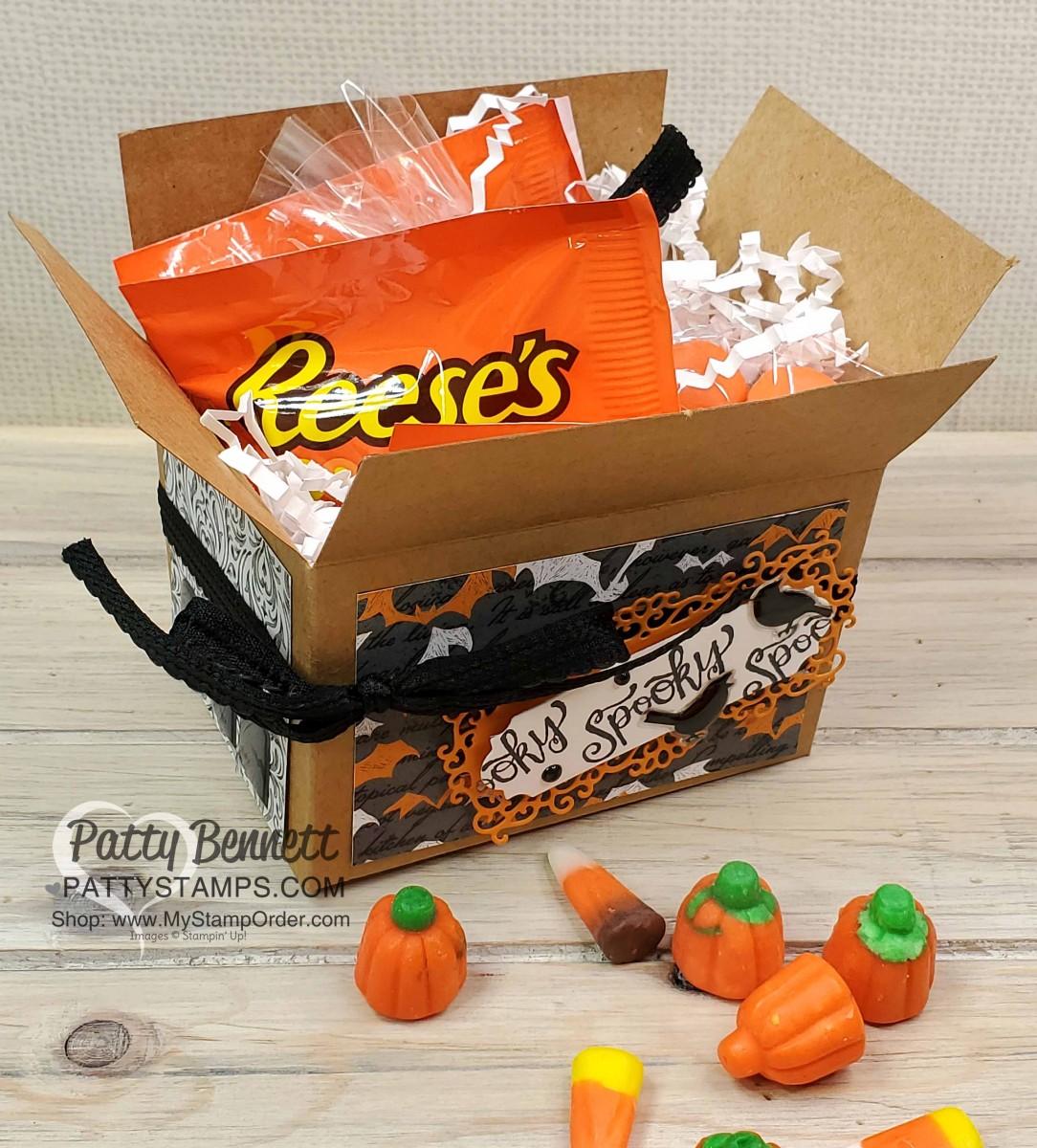 DIY Stampin' UP! Halloween Boxes