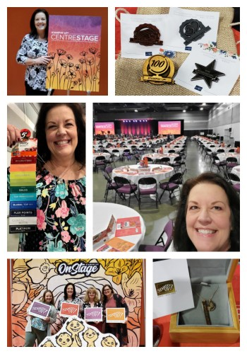 Samples & New Catalog from Stampin' Up! OnStage