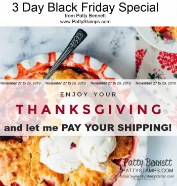 Patty's Black Friday 3 Day Sale Offer!