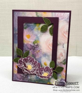 Perennial Essence Blackberry Bliss Card Idea