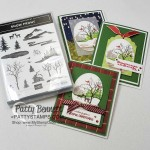 Stampin Up Snow Front stamp set Christmas or Holiday card ideas by Patty Bennett www.PattyStamps.com