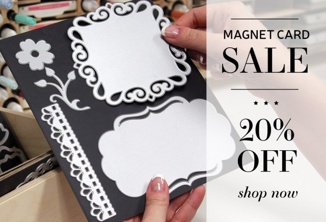 How I store my Stampin' UP! dies - Stamp-n-Storage Magnet Cards - Sale through November 4, 2019. www.PattyStamps.com