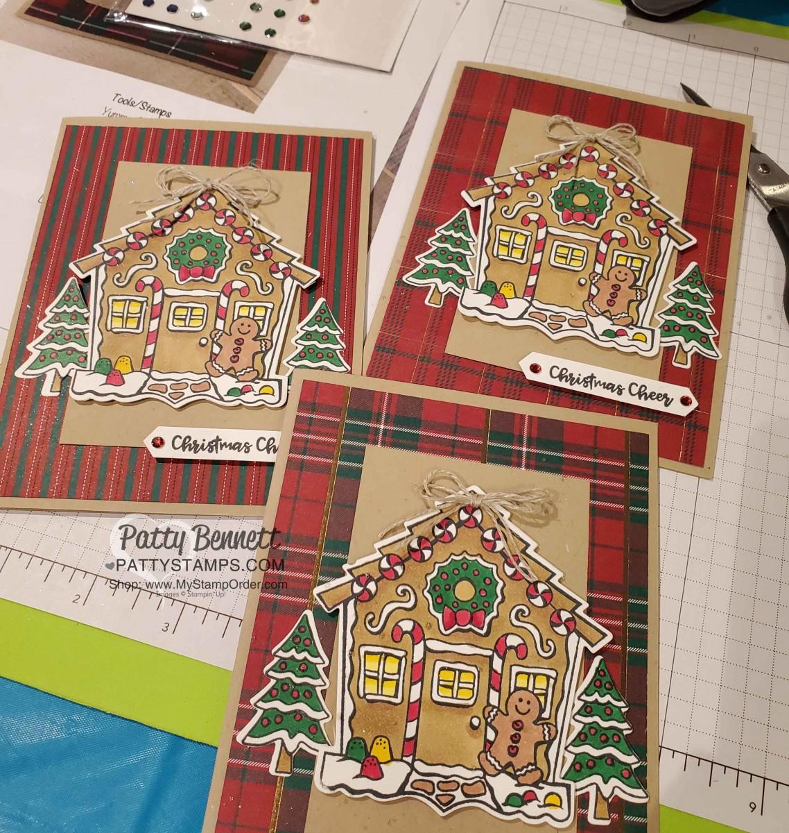 Gingerbread House Christmas Card Idea